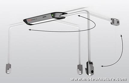 Leviamp d 39 easycharge un boitier de recharge au plafond - Chauffage electrique au plafond ...