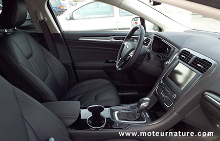 ford mondeo hybrid essai d233taill233