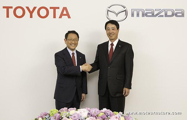 Toyota avec Mazda