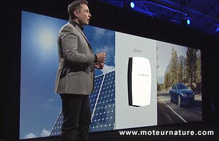 Elon Musk et Powerwall
