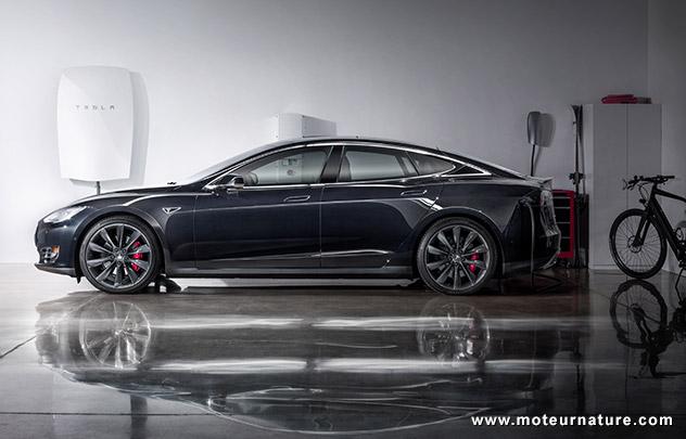 Tesla Model S et Powerwall