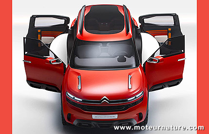 Concept Citroën Aircross concept hybride rechargeable