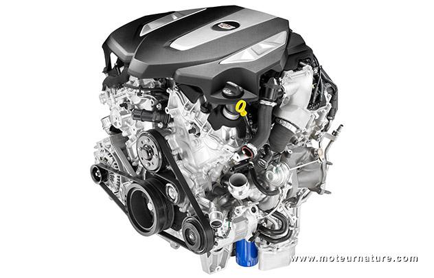 V6 Cadillac biturbo