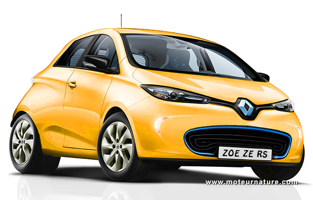 renault zo ze rs propulsion 300 kw batterie chrome. Black Bedroom Furniture Sets. Home Design Ideas
