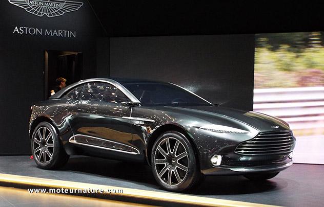 Le concept Aston Martin DBX au salon de Genève