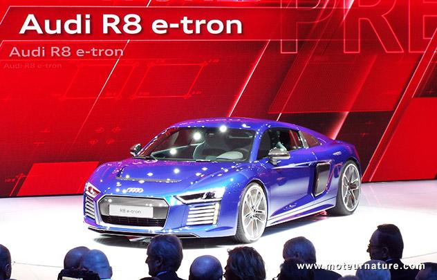 L'Audi R8 au salon de Genève