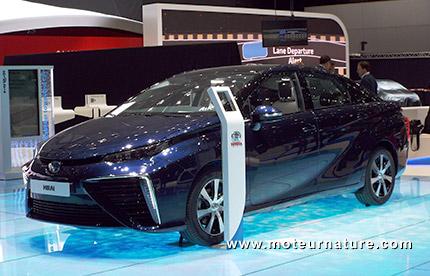Toyota Mirai au salon de Genève