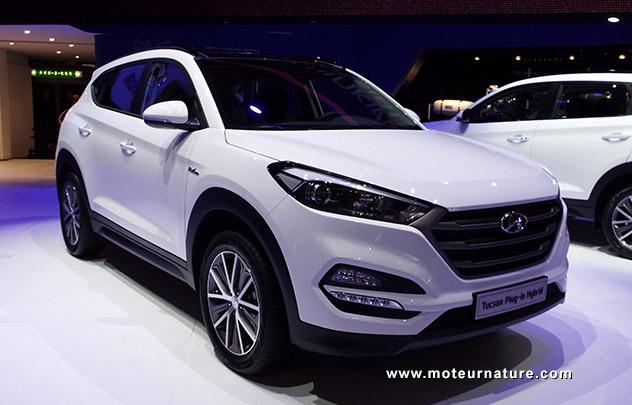 Hyundai Tucson concept hybride rechargeable