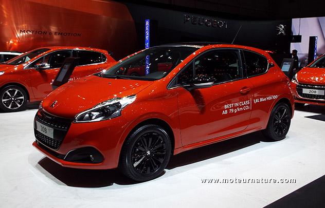 Peugeot 208 1,6l BlueHDi 100