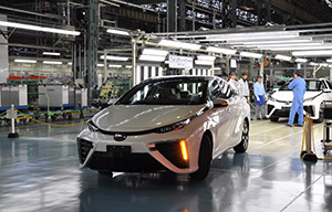 La Toyota Mirai en production