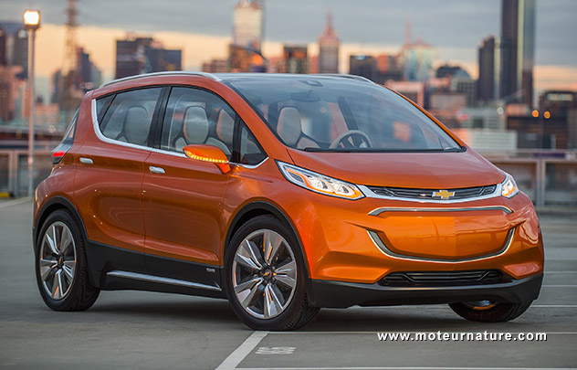 Confirmation officielle pour la Chevrolet Bolt