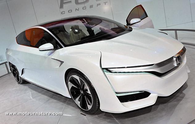 Honda FCV à hydrogène