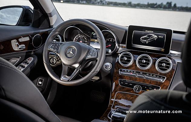 Mercedes C350 plug-in hybride