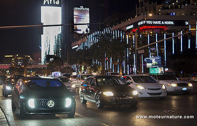 Mercedes F 015 Luxury in Motion