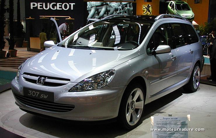 Peugeot 307 SW à Francfort 2001