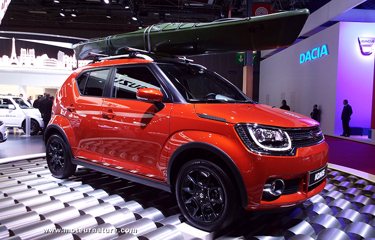 passion suv suzuki ignis shvs l 39 hybride la moins ch re du march 17 690 en version 4. Black Bedroom Furniture Sets. Home Design Ideas