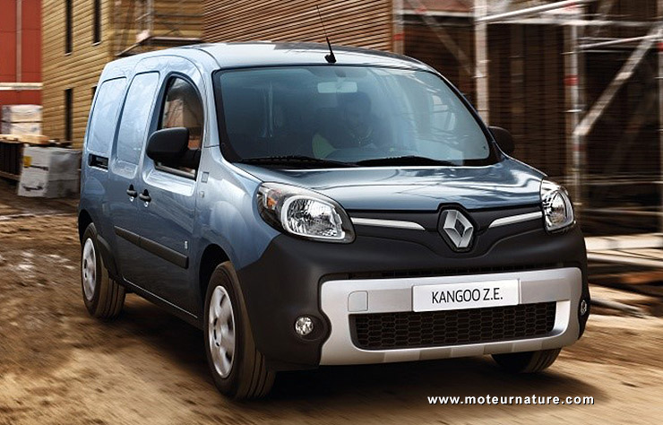 le renault kangoo lectrique augmente son autonomie 270 km. Black Bedroom Furniture Sets. Home Design Ideas