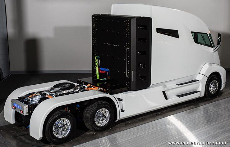 Camion électrique à hydrogène Nikola One
