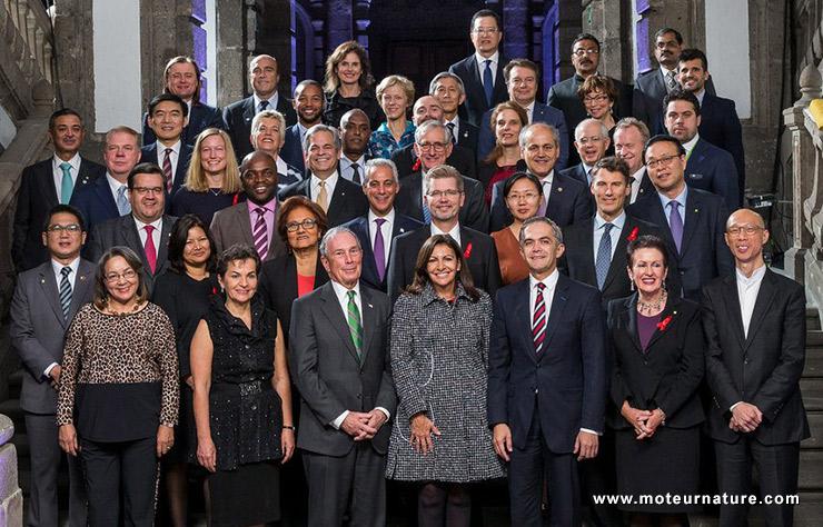 Les maires des 40 plus grandes villes