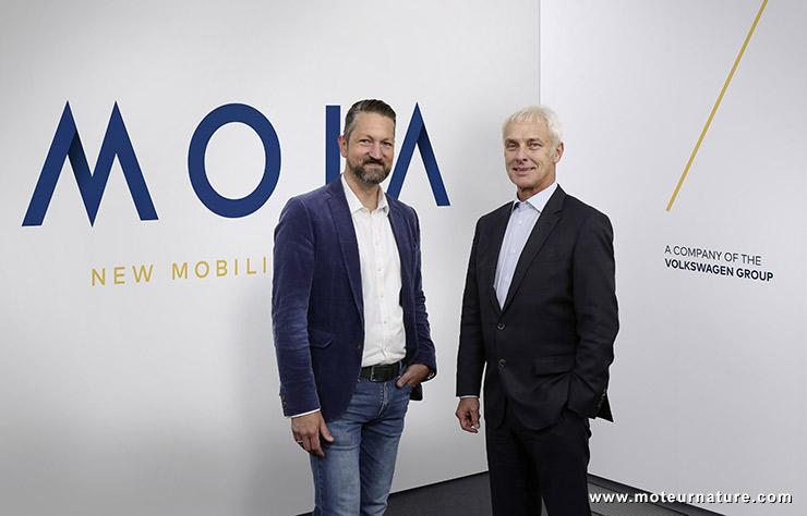 MOIA par Volkswagen