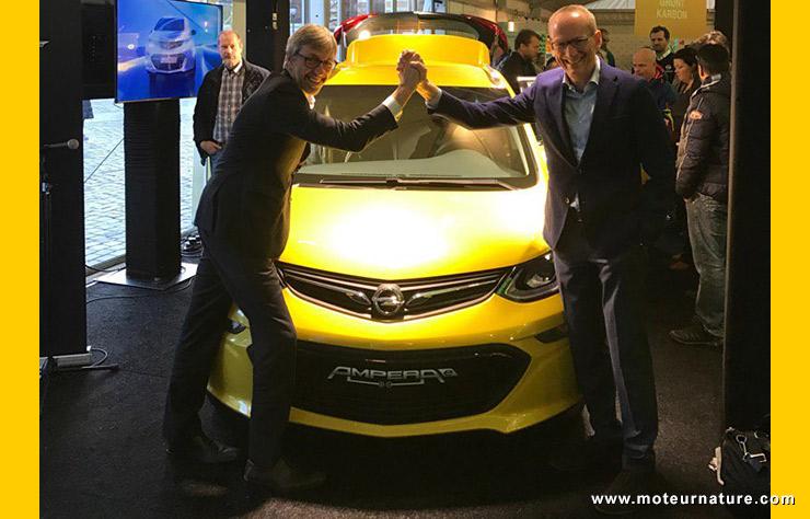 L'Opel AmperaE