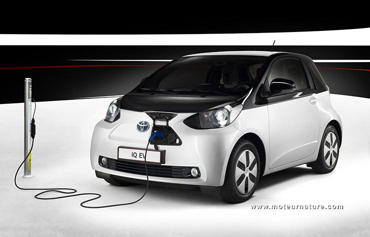 Toyota iQ électrique eQ