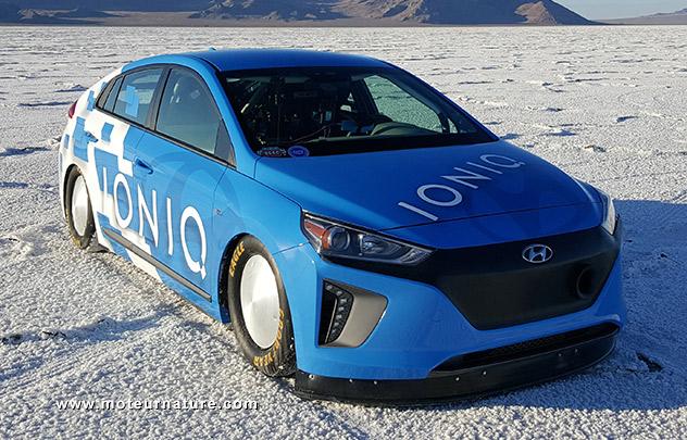 Hyundai Ioniq hybride à Bonneville