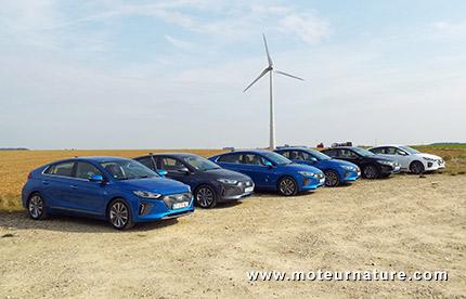 Hyundai Ioniq hybride