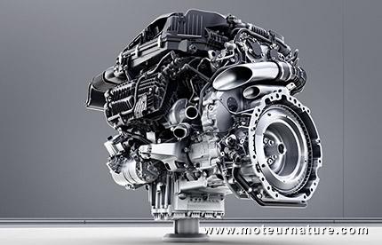 Moteur 6 cylindres en ligne Mercedes