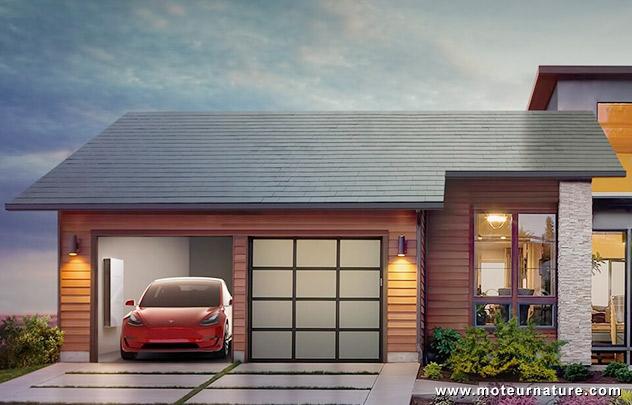 Toit solaire Tesla