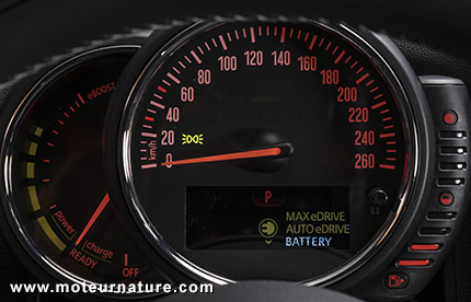 MINI Cooper S E Countryman ALL4 hybride rechargeable