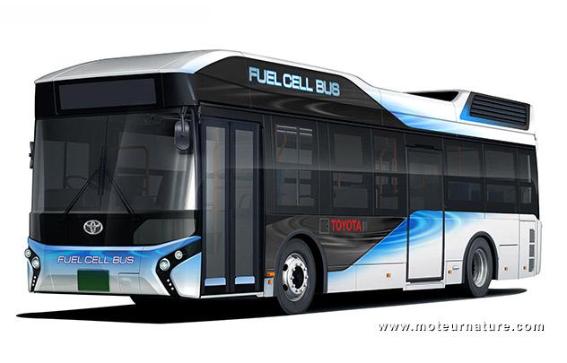 Autobus Toyota à hydrogène
