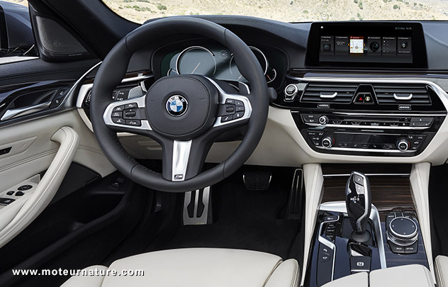 nouvelle bmw s rie 5 changement dans la continuit. Black Bedroom Furniture Sets. Home Design Ideas