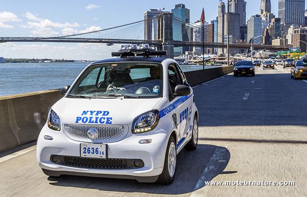 Smart Fortwo de la NYPD