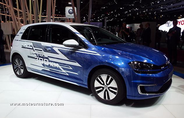 Volkswagen e-Golf 300 km