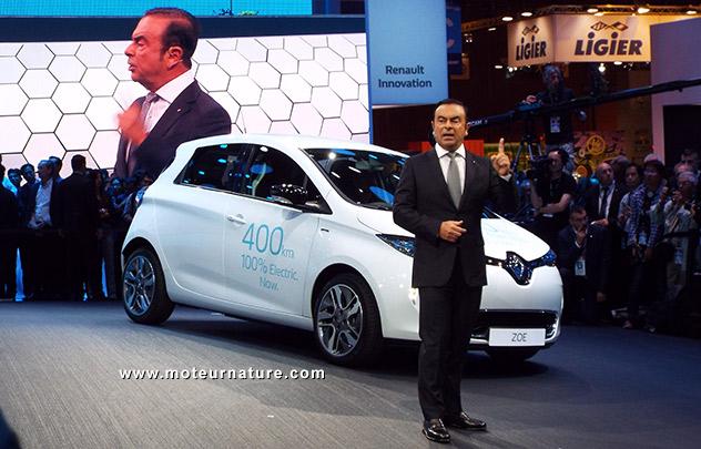 nouveau véhicule électrique renault