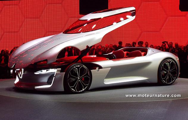 Renault Trezor Un Concept 100 R Ve