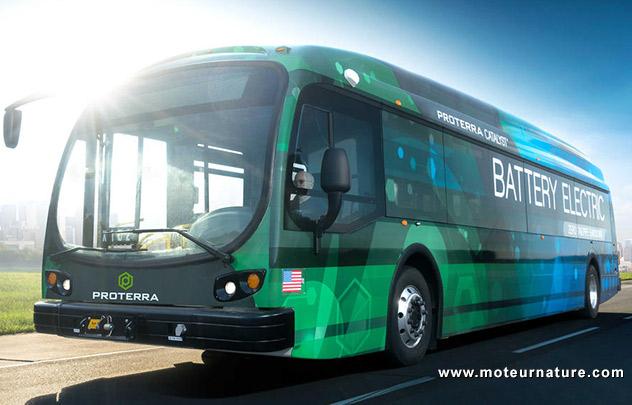 Autocar électrique Proterra