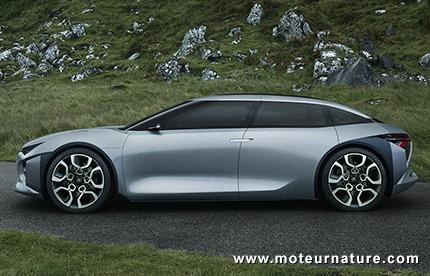 Citroën CXPERIENCE concept hybride rechargeable