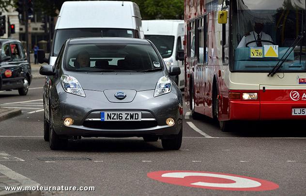 Nissan Leaf à Londres