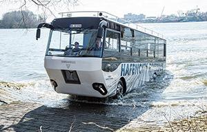 Une idée pour Paris: l'autobus amphibie