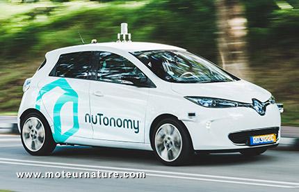nuTonomy Renault Zoé