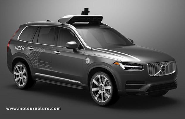 Volvo avec Uber