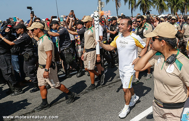 Carlos Ghosn à Rio