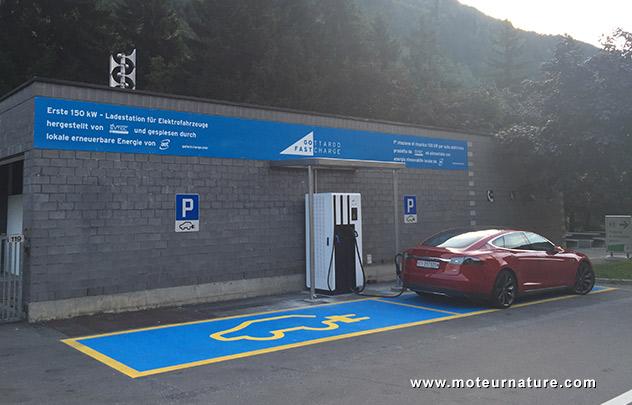 Station électrique Gothard Gofast