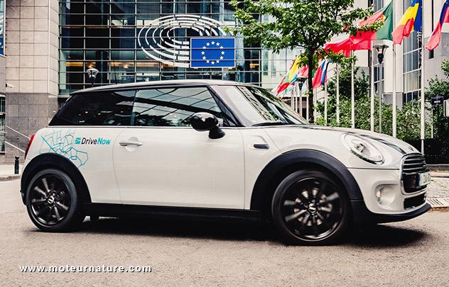 Drive Now à Bruxelles