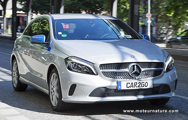 car2go Mercedes classe A