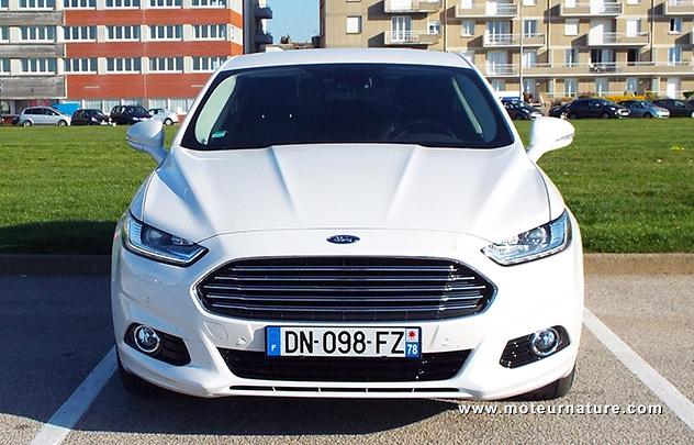Les roues vertes de MoteurNature : Ford Mondeo Titanium hybride
