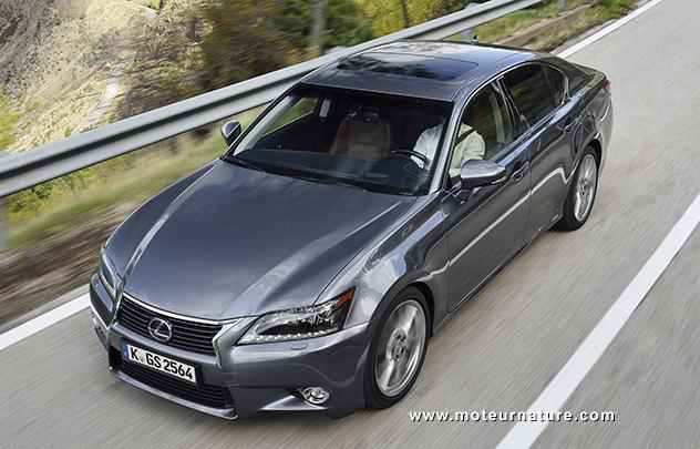 Les roues vertes de MoteurNature : Lexus GS 300h Pack