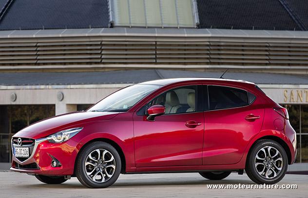 Les roues vertes de MoteurNature : Mazda 2 1.5LSkyActiv-G 115 Sélection